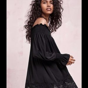 Anthropologie Off The Shoulder Tunic